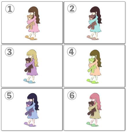 日網狂推超準「6種小女孩心理測驗」 選完看穿「你的真實個性」