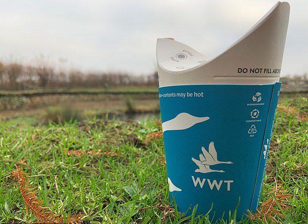 環保新發明!拋棄式紙杯「不用塑膠蓋」 喝完還能當堆肥