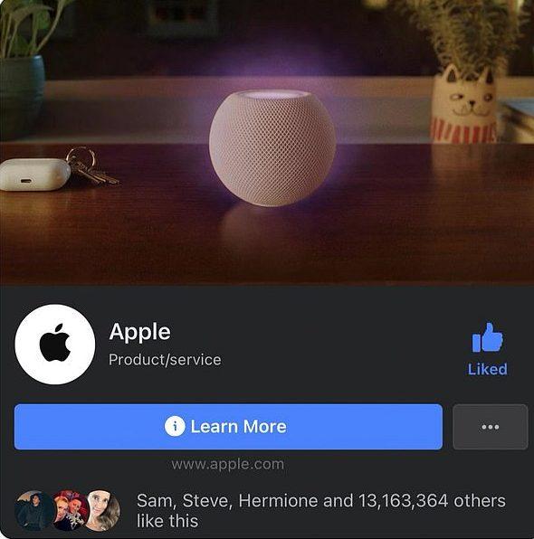 臉書槓上蘋果!Apple粉專「藍勾勾」被取消 「IOS新功能」讓高層怒了