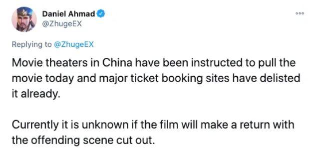《魔物獵人》一句台詞惹怒中國網友 上映一天急撤下:預估損失8億