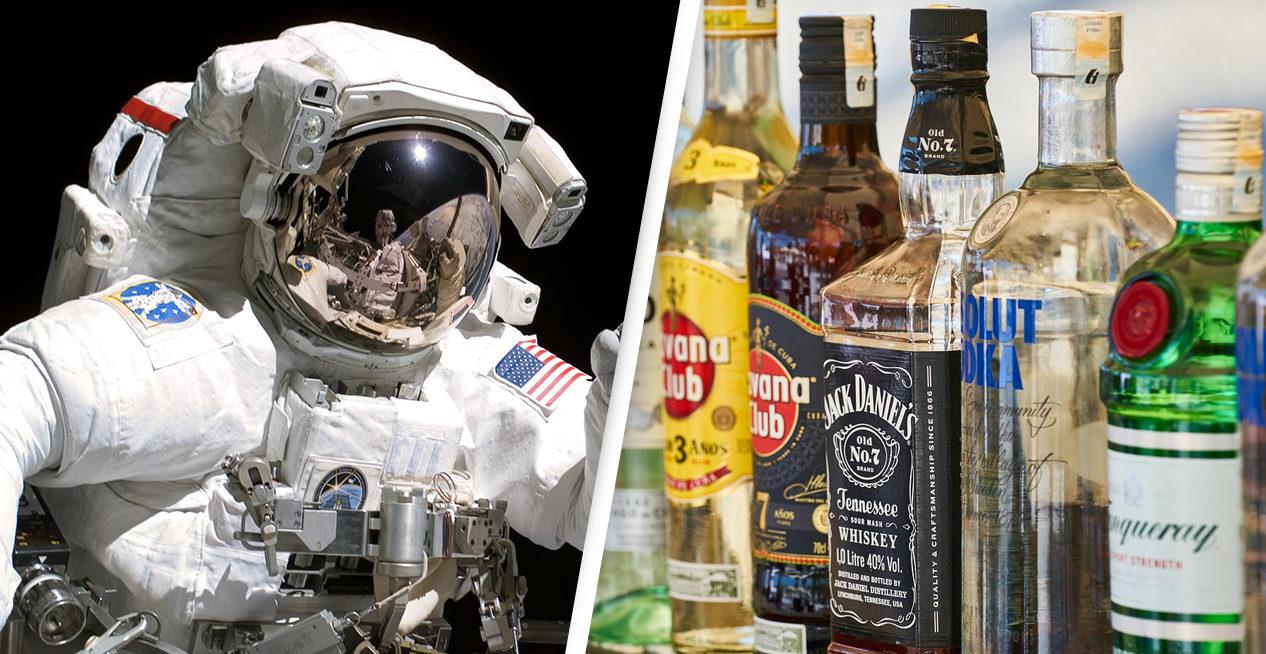 離地球後沒酒喝 酒鬼太空人爆料:偷帶酒「走私到太空」全過程