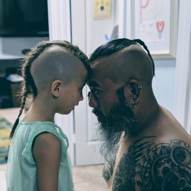 父女超有愛