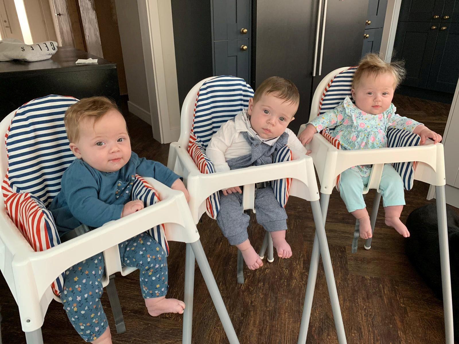 雙子宮生三胞胎