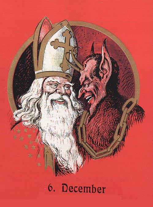 聖誕老公公已OUT!反派版「聖誕惡魔」正夯 傳說2000年前「專揍屁孩」