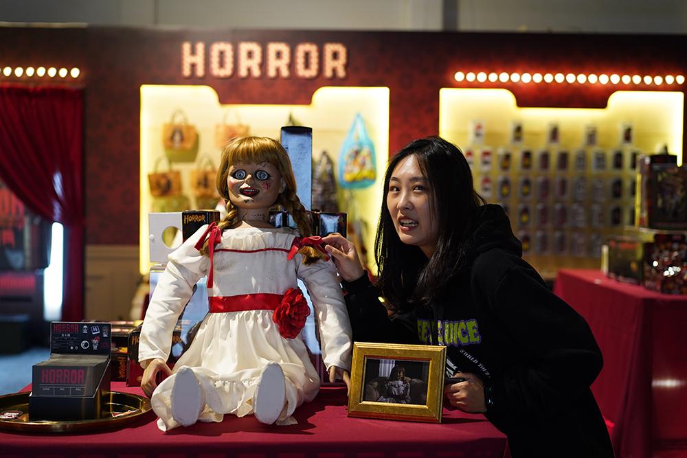 《華納兄弟經典恐怖電影給你一個尖叫聖誕節》Horror玩具鬼電期間限定店 台灣