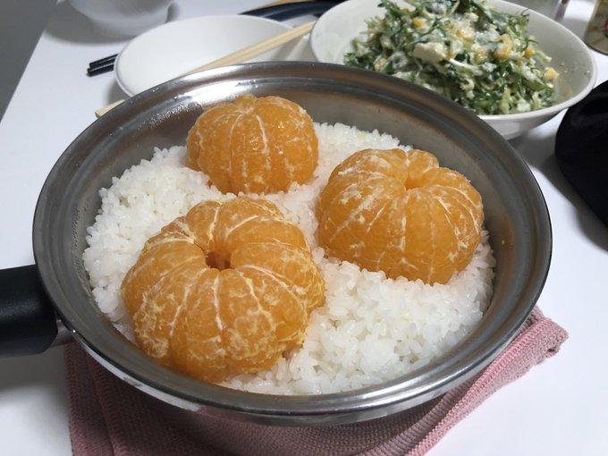 朋友家端超獵奇「橘子飯」 網路一搜「拌進飯裡吃」是特色吃法!