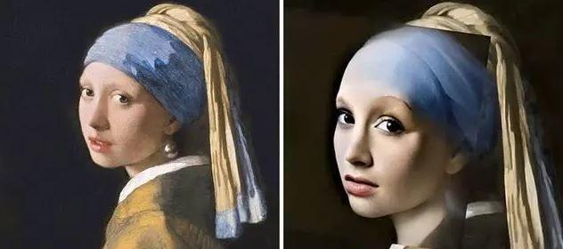 蒙娜麗莎原來本人超級正 7張「AI還原」古代名畫妹子
