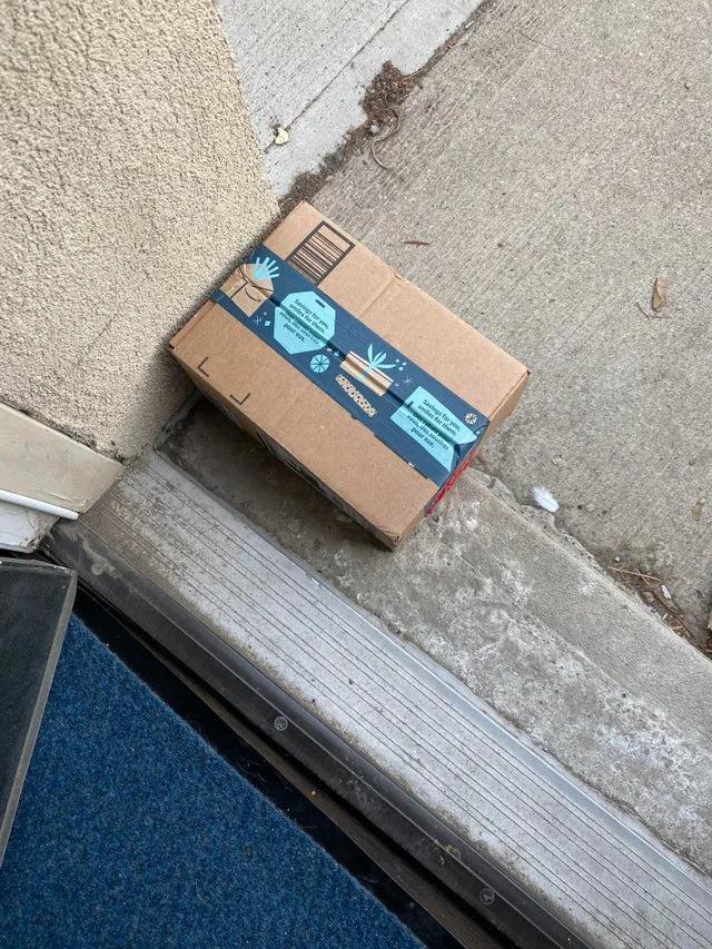 門口包裹常被偷!她突發奇想換成「整盒便便」 40分鐘後畫面笑翻