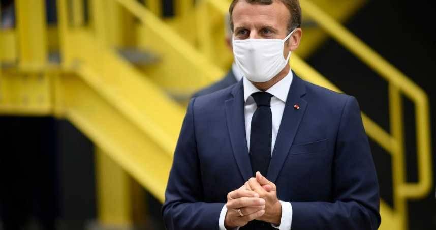 快訊/法國總統馬克宏確診!未來7天強制「遠距辦公」