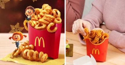 想套在手指吃!麥當勞推限定「圈圈薯條」 「口感Q扎實」網路大爆紅