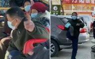 用外國貨不愛國?女滑iPhone遭下車尾隨 大叔扯衣狂罵:是不是中國人