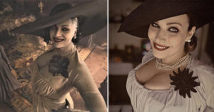 《惡靈古堡8》「高大貴婦吸血鬼」美到爆紅 Cosplay、二創網瘋狂:快來踩我~