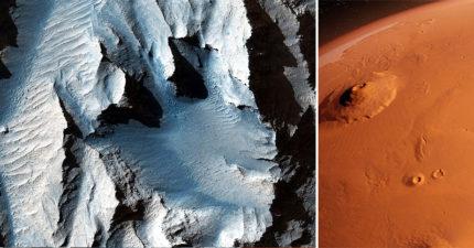 NASA拍下「火星大峽谷」震撼照 大達「火星圓周1/4」像末日電影畫面!