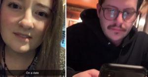 約會時男友一直滑手機 她意外看到「眼鏡反光」瞬間心寒