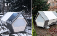 不怕寒冬夜!專家設計「街友睡眠艙」 內部超舒適「氣溫調節」能用Wi Fi