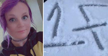 家門出現「詭異1F符號」 網友破解「超毛訊息」她嚇到直接逃