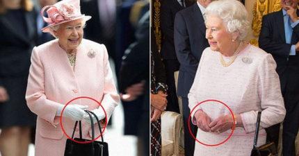英女王的「包包」會發送秘密暗號 「包包放地上」就事情大條了!