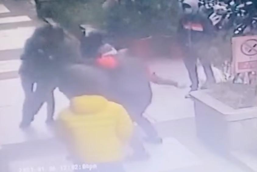 送餐爆衝突 「吳柏毅」外送員烙「熊貓」狂揍昏倒