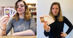 國王贏皇后不合理!正妹發明「性別平等撲克牌」 3件寶物取代K、Q、J