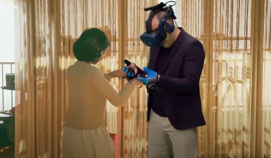 只能看到影子也好!爸爸VR重逢心愛妻子 達成「人生最後心願」女兒哭崩