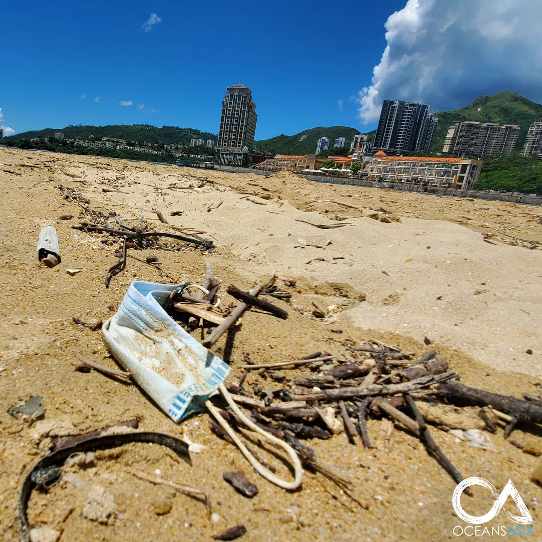 2020年污染嚴重「15億口罩」進大海 等到你都「輪迴5次」才能分解!