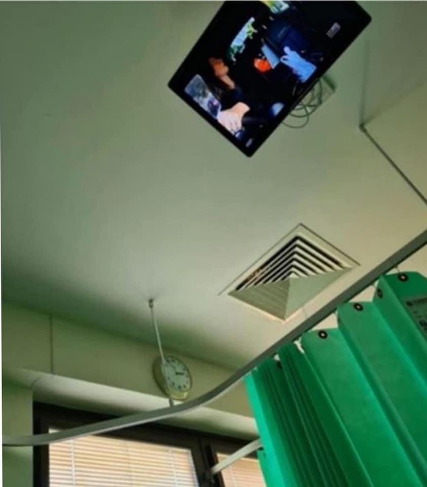阿嬤住院總覺得「被人盯著」 她往上一看「通風口」嚇呆