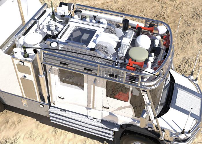 爸爸給女兒打造「末日求生車」內部超高科技 台灣「環島三圈」不用補給!