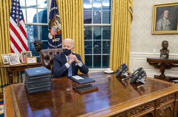 白宮模樣大換!6個「川普VS拜登」辦公室超大不同 「掛畫」不再是總統