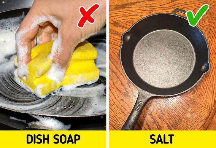 不該使用洗碗精