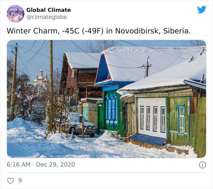 俄羅斯冬天照