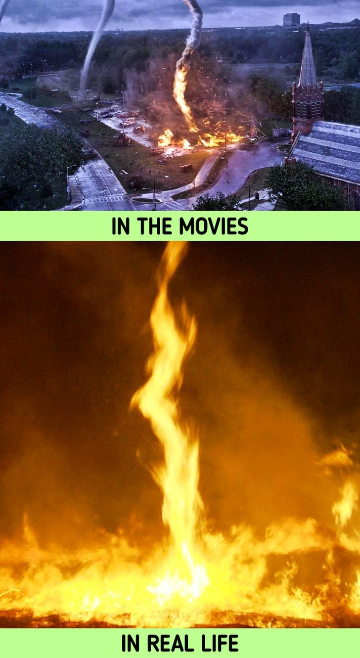 電影場景與現實對照