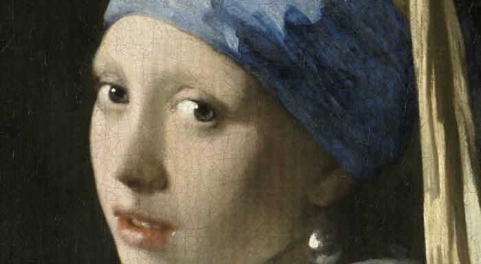 把名畫轉成「100億像素」 超近距離看「珍珠耳環層次」...畫家太強大!