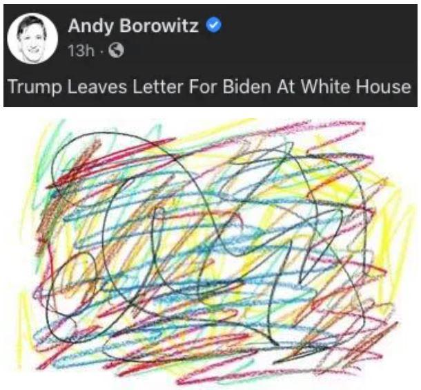 川普走前給拜登留下「一封信」 拜登讚「內容很大方」
