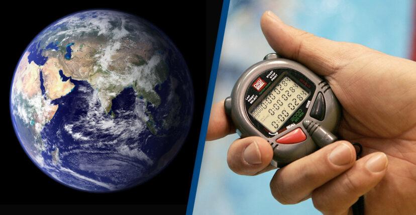 時間被偷走?研究發現地球自轉「偷偷加速」 專家:現在一天不到24小時