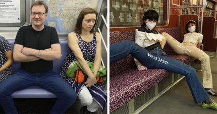 女大生受夠「男性搭車腿超開」佔位置 設計「開腿褲」制裁回去搶購一空!