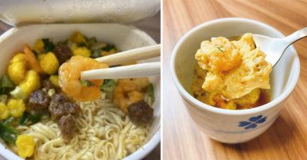 泡麵剩湯不要丟!4步驟打造「美味茶碗蒸」一麵兩吃