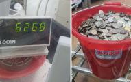 提「整捅硬幣」到銀行換鈔被拒 他傻眼:又不是偽幣