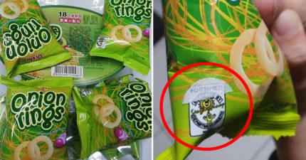 零食包裝貼「綠色貼紙」有用處?內行人曝:不貼違法