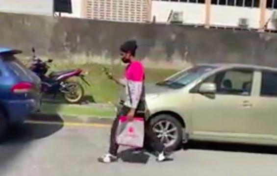 買不起單車...清寒大學生「日走10km徒步送餐」顧家 熱心網友出手