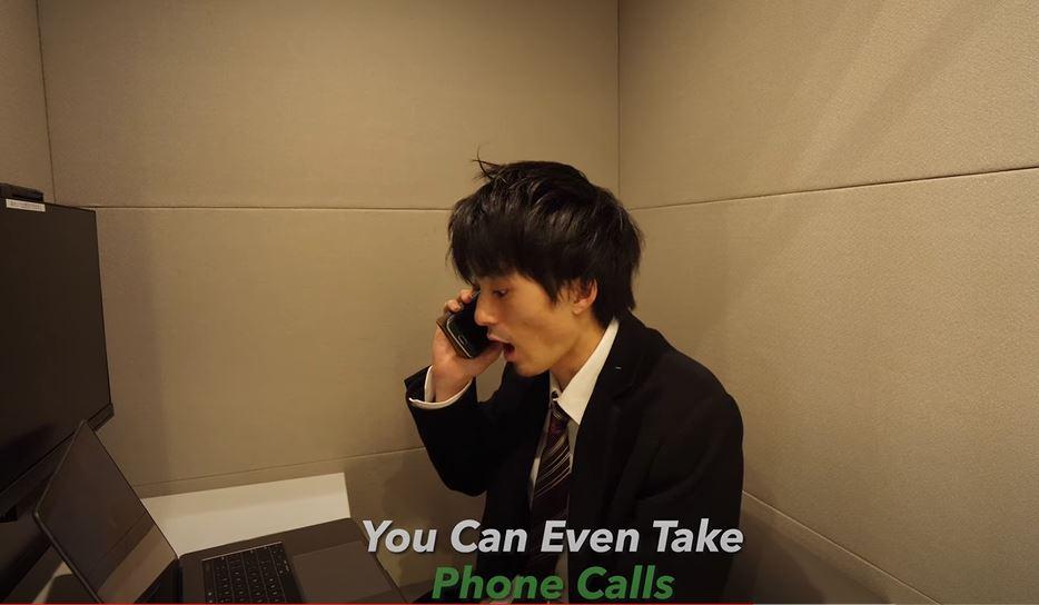 日本「辦公電話亭」大流行 看似狹小「超實用內部設計」想爽用一整天