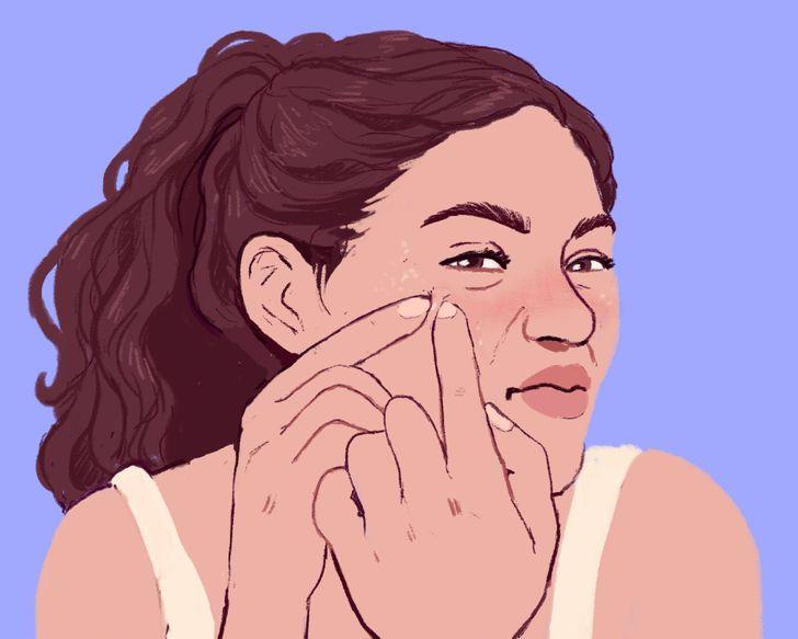 眼睛附近長「白色點點」是痘痘嗎?如果「手癢想擠」後果很嚴重