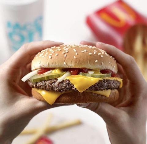 麦当劳点汉堡只要番茄酱