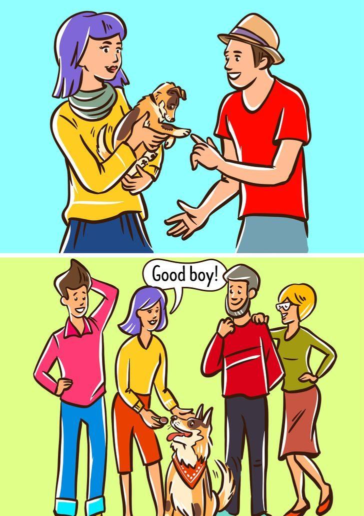 什麼都沒做但是「狗狗總對你狂吠」?「6種特徵」讓狗狗對你沒好感