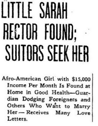 11歲黑人女孩「家噴石油」4白人急求婚 一夜暴富「被政府認證成白人」