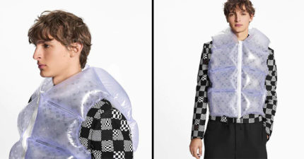 泡泡紙成新流行?LV推氣囊背心 裝滿空氣「賣天價」網笑:想用牙籤戳