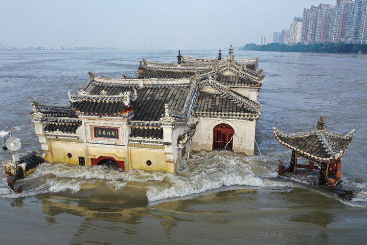 神秘風景「水中古寺」...洪水沖700年不垮!專家曝玄機