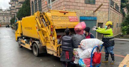 外婆倒垃圾意外「倒掉外孫」 載到焚化爐被當垃圾燒了