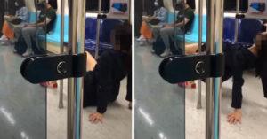 影/短裙女搭捷運「開腿上下搖晃」 「直對乘客」他近看傻眼
