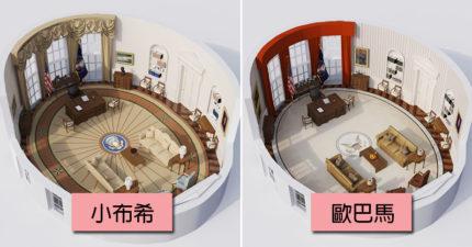 川普、拜登差超大!美國歷任總統「辦公室裝潢」 3D模型曝性格不同