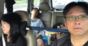爸爸看了都懂!他分享「出遊開車日常」釣出一堆苦主爸:眾人皆睡我獨醒